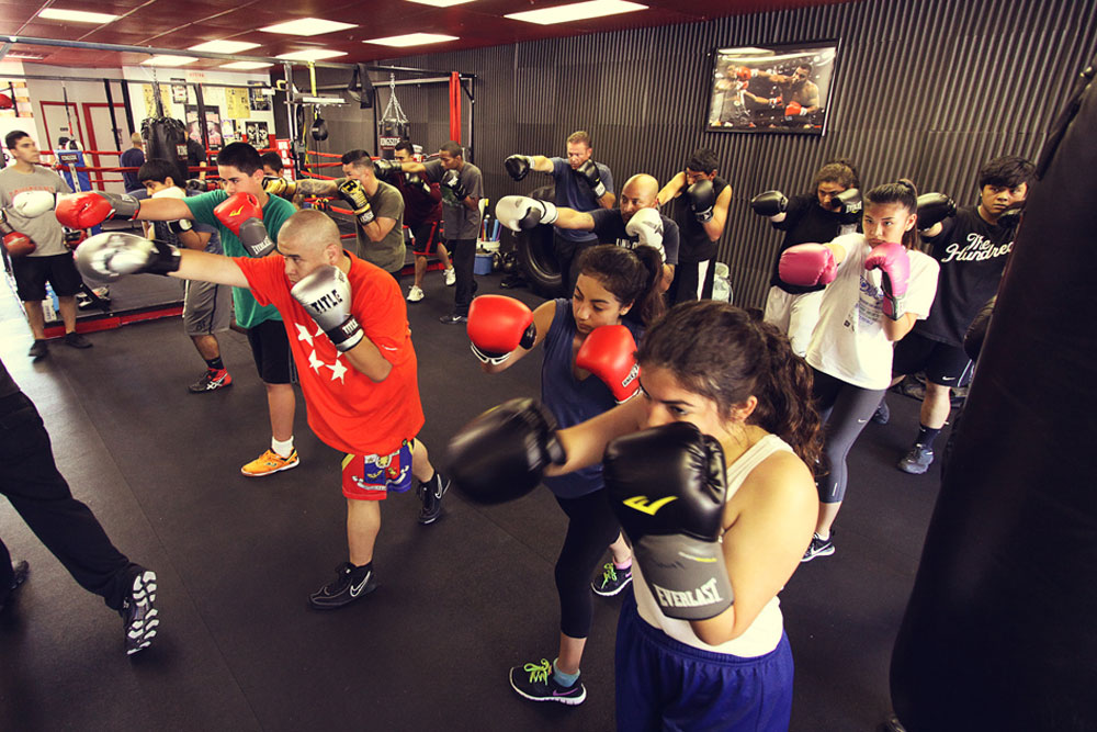 Group Boxing Classes 100